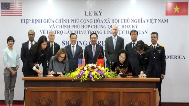 Vietnam, U.S. Sign Customs Mutual Assistance Agreement