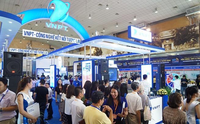 Triển lãm Vietnam ICT COMM 2019 diễn ra từ ngày 6-8/6/2019