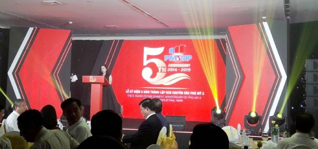 Kỷ niệm 5 năm thành lập Khu công nghiệp Chuyên sâu Phú Mỹ 3