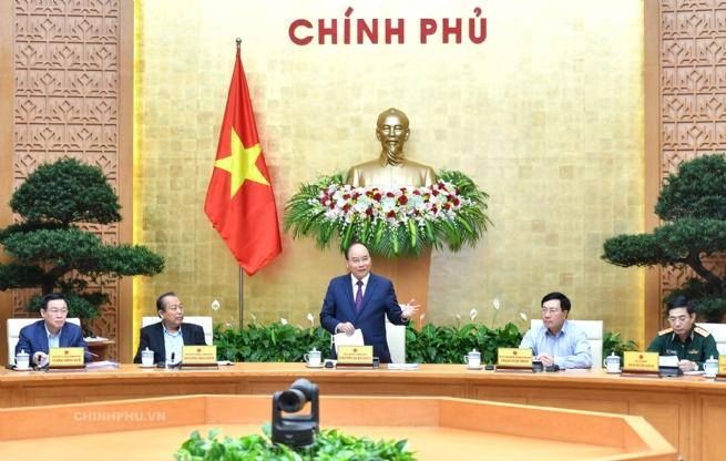 Chính phủ họp phiên thường kỳ tháng 5/2019