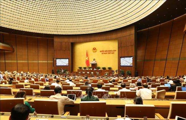 Quốc hội thông qua các nghị quyết về tổ chức, cán bộ