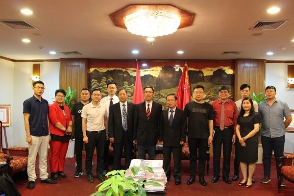 Đẩy mạnh hợp tác doanh nghiệp Việt Nam và thành phố Tế Nam, Trung Quốc