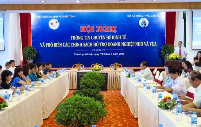 Hiệp hội doanh nghiệp tỉnh Thừa Thiên Huế Mái nhà chung của doanh nghiệp
