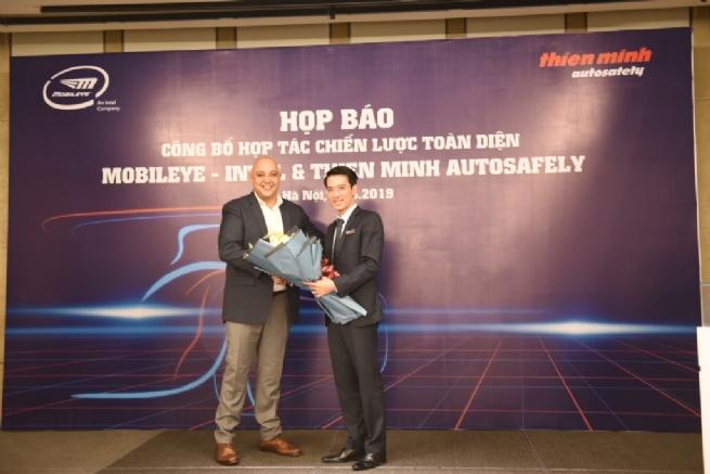 Công bố hợp tác chiến lược toàn diện giữa Mobileye – Intel và Thiên Minh Autosafety