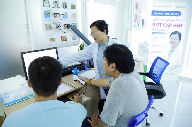 AstraZeneca Việt Nam phối hợp triển khai nhiều hoạt động vì lá phổi khỏe