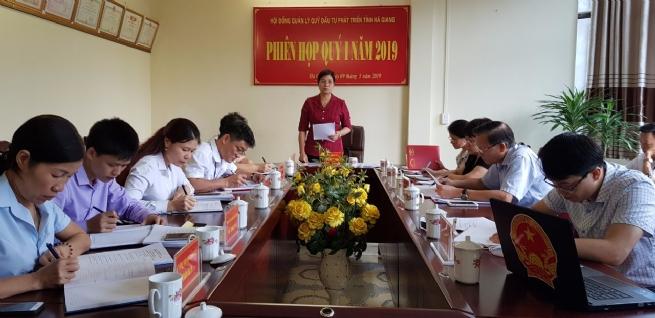 Quỹ đầu tư phát triển tỉnh Hà Giang: Quản lý vốn có hiệu quả,  sử dụng vốn đúng mục đích