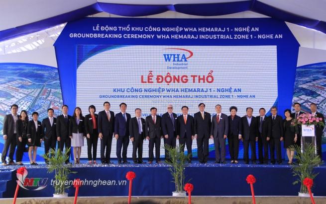 KCN WHA 1 - Nghệ An: Khẳng định cam kết của WHA đối với Việt Nam và Đông Nam Á
