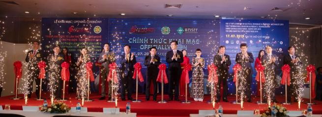 Khai mạc triển lãm Quốc tế Vietnam ETE 2019 và Hội chợ Quốc tế Enertec Expo 2019