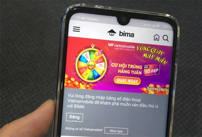 """Vietnamobile ra mắt dịch vụ thoại, sim """"Thánh HI"""" và ứng dụng BIMA"""