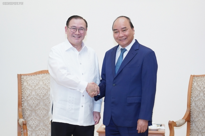 Thủ tướng tiếp Bộ trưởng Ngoại giao Philippines
