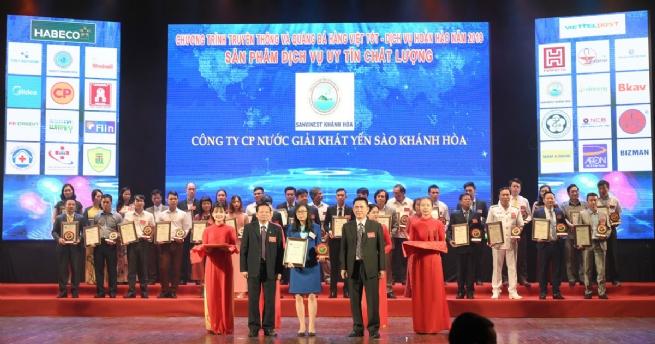 Yến sào Khánh Hòa lọt Top 10 hàng Việt chất lượng tốt vì người tiêu dùng 2019