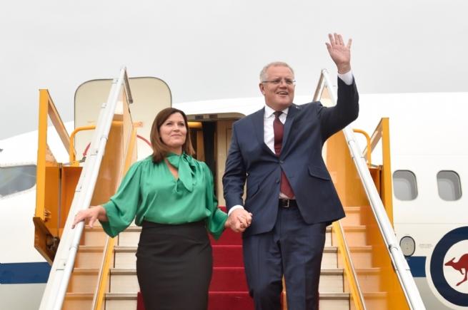Chùm ảnh: Thủ tướng Australia và Phu nhân thăm chính thức Việt Nam