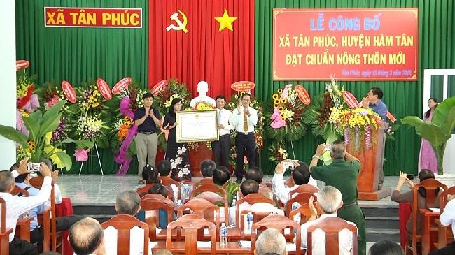 Huyện Hàm Tân: Sẵn sàng cho những bước tiến nhanh, mạnh và bền vững