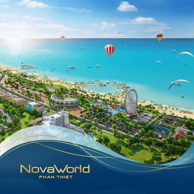 NovaWorld Phan Thiet: Phát triển theo mô hình tổ hợp du lịch nghỉ dưỡng giải trí