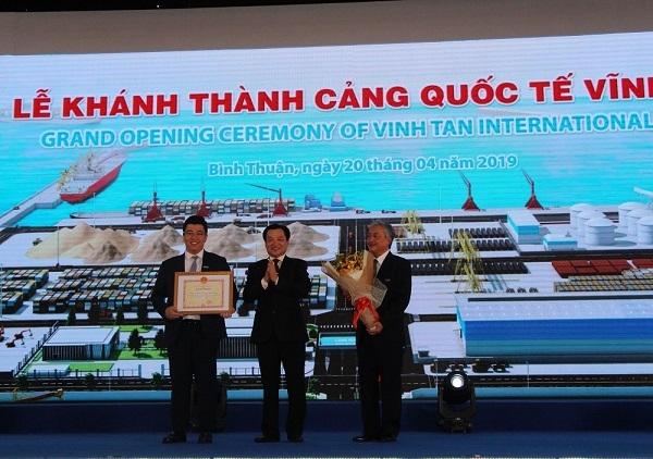 """KCN Tuy Phong: """"Bến đỗ"""" tin cậy của nhà đầu tư"""