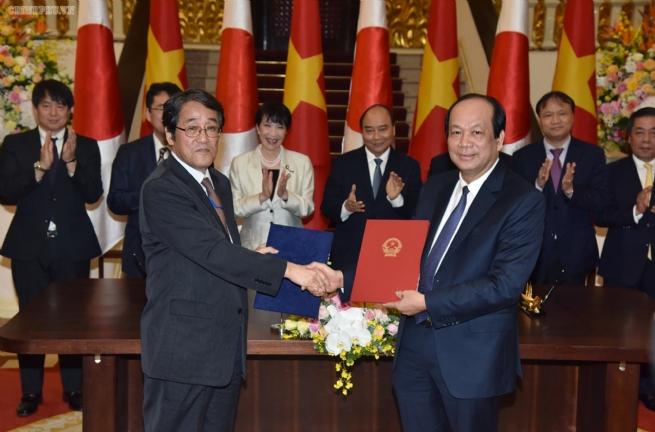 Hứa hẹn một năm hợp tác sôi động Việt Nam-Nhật Bản