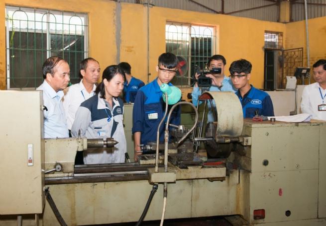 Trường Cao đẳng Kinh tế - Kỹ thuật Vĩnh Phúc: Không ngừng nâng cao chất lượng đào tạo