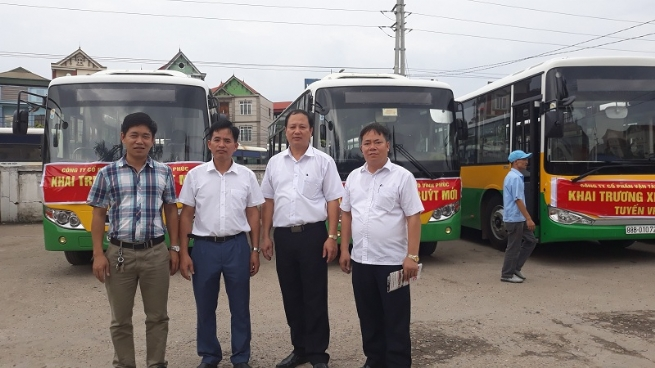 Công ty cổ phần Vận tải ô tô Vĩnh Phúc: Góp phần giải quyết bài toán ách tắc giao thông