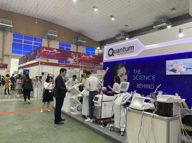 Công nghệ làm đẹp mới nhất được trưng bày tại Triễn lãm BeautyCare Expo 2020