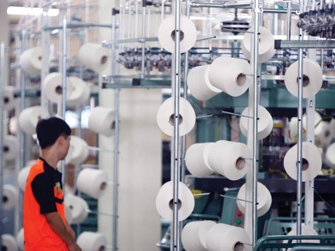 Vốn FDI chảy mạnh vào các dự án dệt, sợi