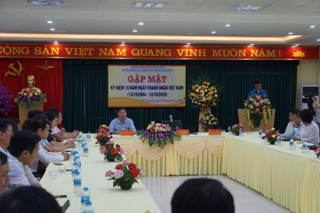 BQL các KCN tỉnh Thái Nguyên: Gặp mặt Doanh nghiệp nhân ngày Doanh nhân Việt nam