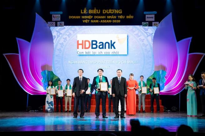 HDBank: Doanh nghiệp tiêu biểu Việt Nam ASEAN 2020