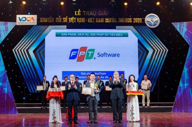 Nền tảng akaChain của FPT Software giành giải thưởng Chuyển đổi số 2020