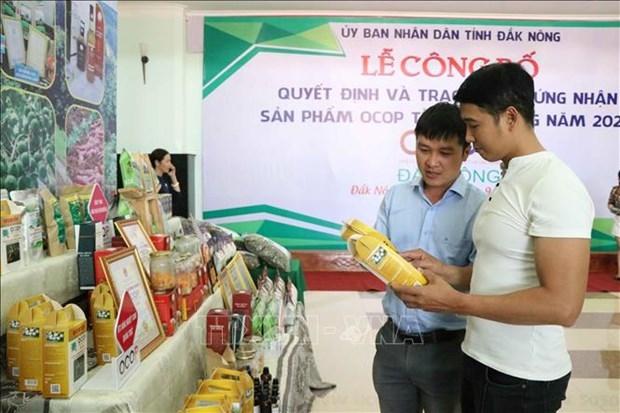 Đắk Nông: Chương trình OCOP tạo động lực kinh tế nông thôn