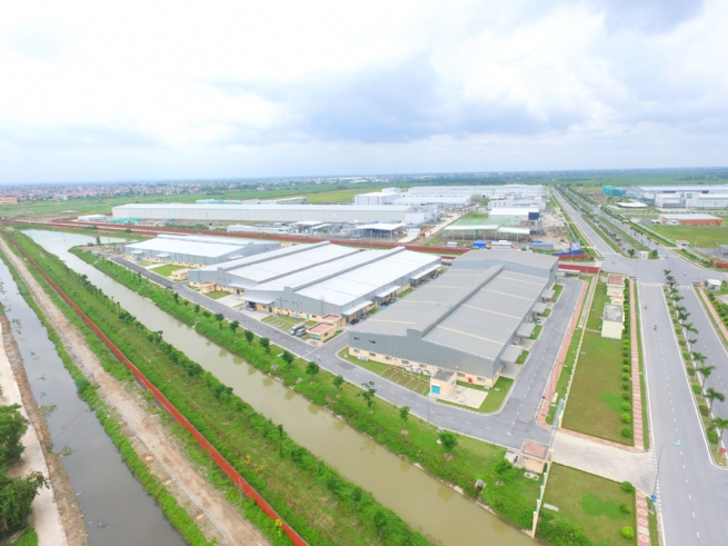 Hung Yen Management Board of Industrial Parks Boosting Business Support