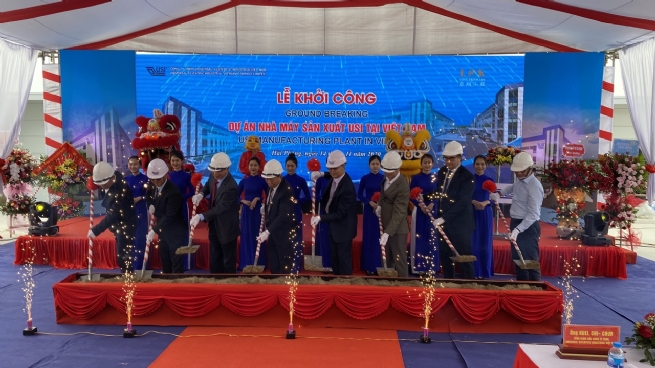 Universal Scientific Industrial kicks off construction on electronic board manufacturing and assembly plant in Haiphong
