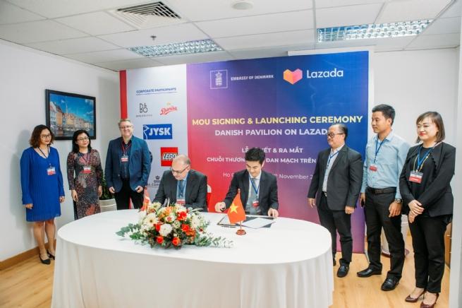 Ra mắt trang các thương hiệu Đan Mạch đầu tiên trên  Sàn thương mại điện tử Lazada Việt Nam