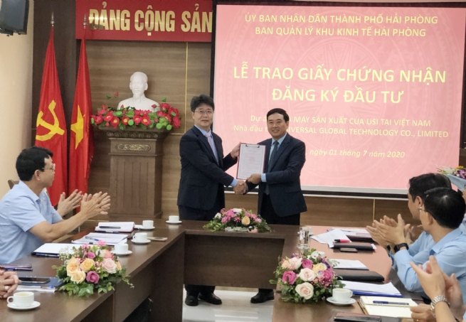 Hai Phong Economic Zone Authority Fostering Investor Support