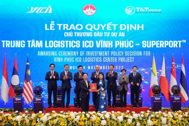 Vĩnh Phúc: Đẩy mạnh phát triển dịch vụ logistics