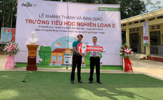 Cargill's School Building Project Creates a Lasting Impact through Education for More Than 15,000 Students in 50 Provinces of Vietnam