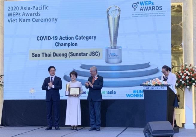Trao Giải thưởng WEPs của UNWomen Châu Á – Thái Bình Dương