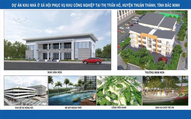 Dự án Khu nhà ở xã hội Lan Hưng: Góp phần thay đổi diện mạo  vùng đất Thuận Thành