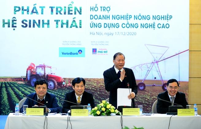 Năm đề xuất hỗ trợ doanh nghiệp nông nghiệp ứng dụng công nghệ cao