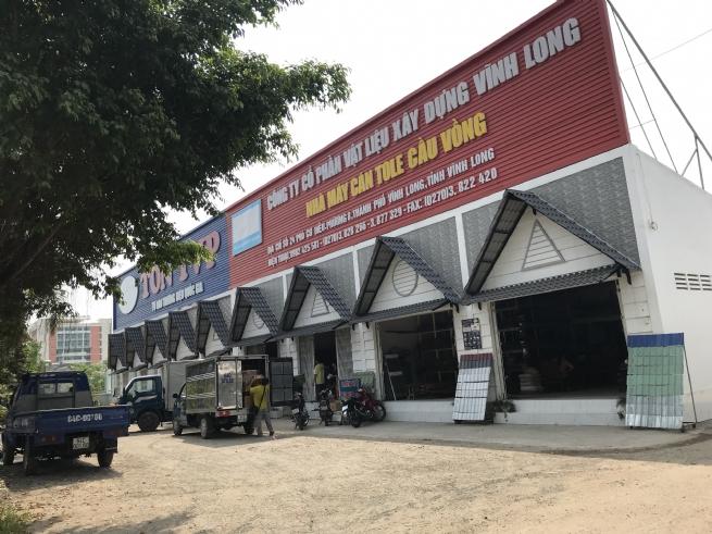 Công ty CP Vật liệu xây dựng Vĩnh Long: Tạo dựng vị thế và uy tín thương hiệu  vững chắc trên thị trường