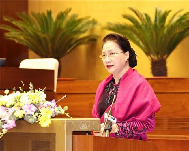 Chủ tịch Quốc hội chủ trì Hội nghị tổng kết Năm Chủ tịch AIPA 2020