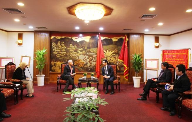 Chủ tịch VCCI tiếp Đại sứ Indonesia tại Việt Nam
