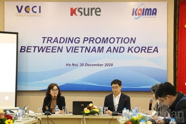 Đẩy mạnh xúc tiến thương mại Việt Nam – Hàn Quốc