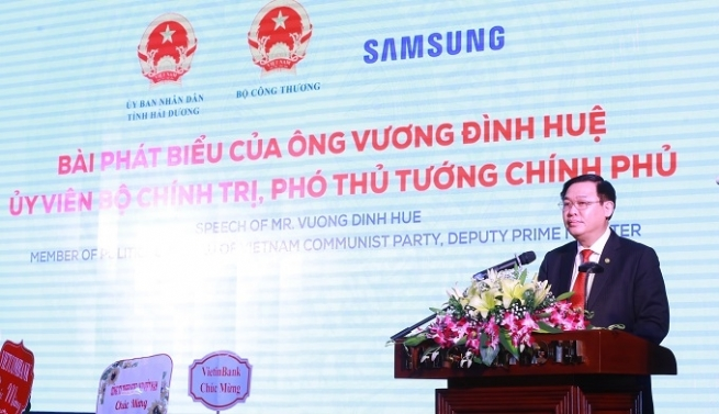 Vietnam Keen to Develop Supporting Industries: Deputy PM Hue