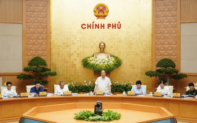 Chính phủ họp phiên thường kỳ tháng 2/2020