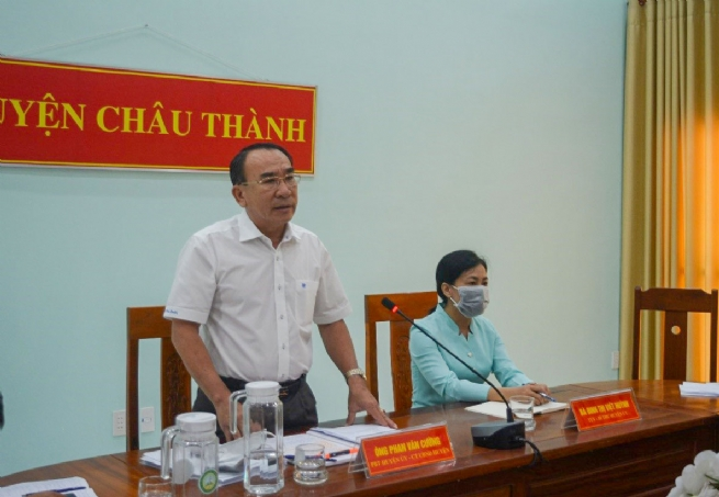 Huyện Châu Thành: Đẩy mạnh cải cách hành chính,  tăng cường thu hút đầu tư