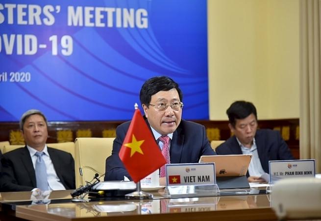 ASEAN - Hoa Kỳ: Thúc đẩy hợp tác ứng phó dịch Covid-19