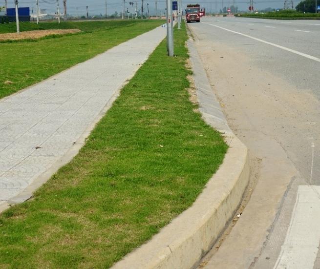 Cải tạo cảnh quan đường quốc lộ 7C đoạn đi qua KCN WHA Industrial Zone 1 – Nghệ An