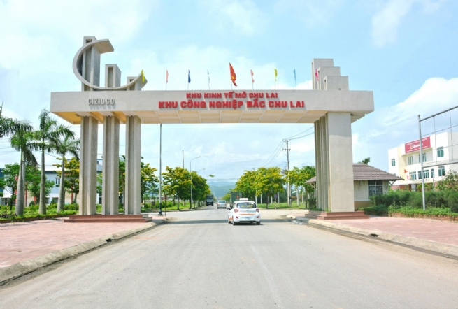 North Chu Lai IZ: Strong Advancement, Growth Motivation for Eastern Tam Ky City