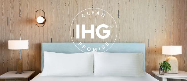 IHG® Hotels & Resorts tiến hành thay đổi toàn diện dịch vụ vệ sinh