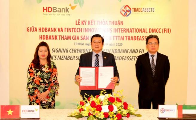 HDBank tham gia TradeAssets nhằm số hoá hoạt động tài trợ thương mại