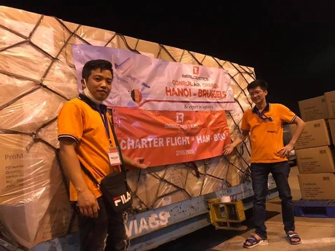 Bee Logistics cung cấp dịch vụ gom hàng vận chuyển từ Hà Nội đi Bỉ